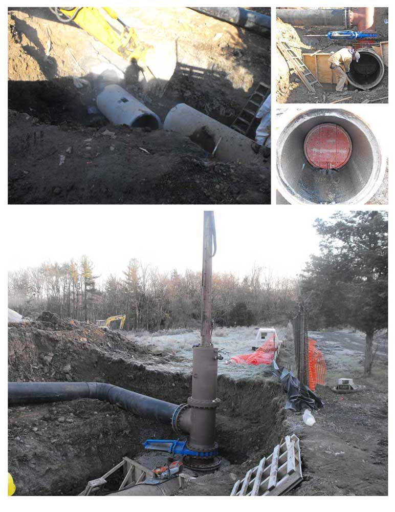 Pipe Bypass services job collage
