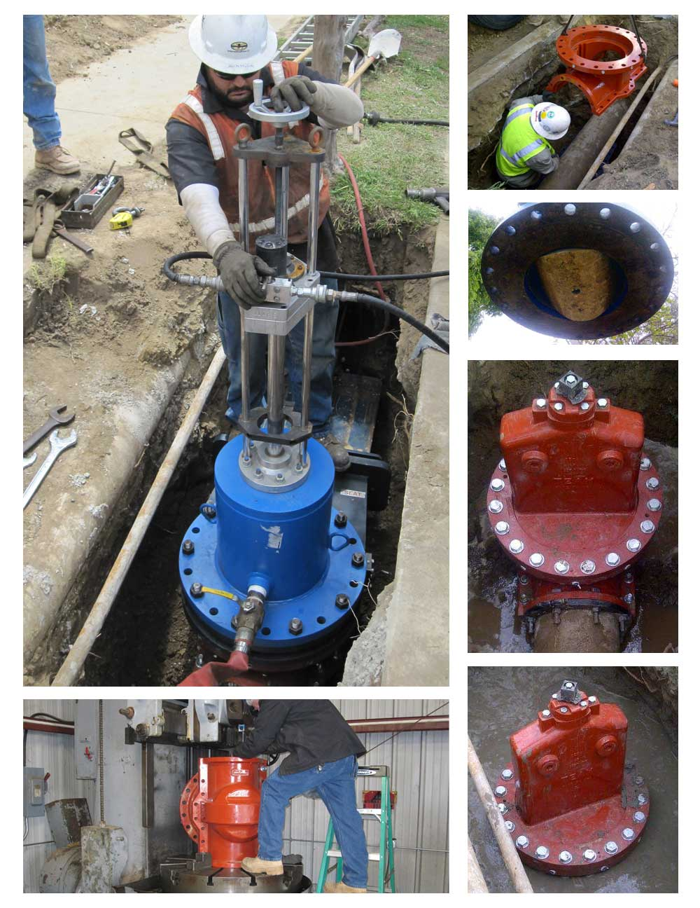 12inch Team Insert Valve Installation in California