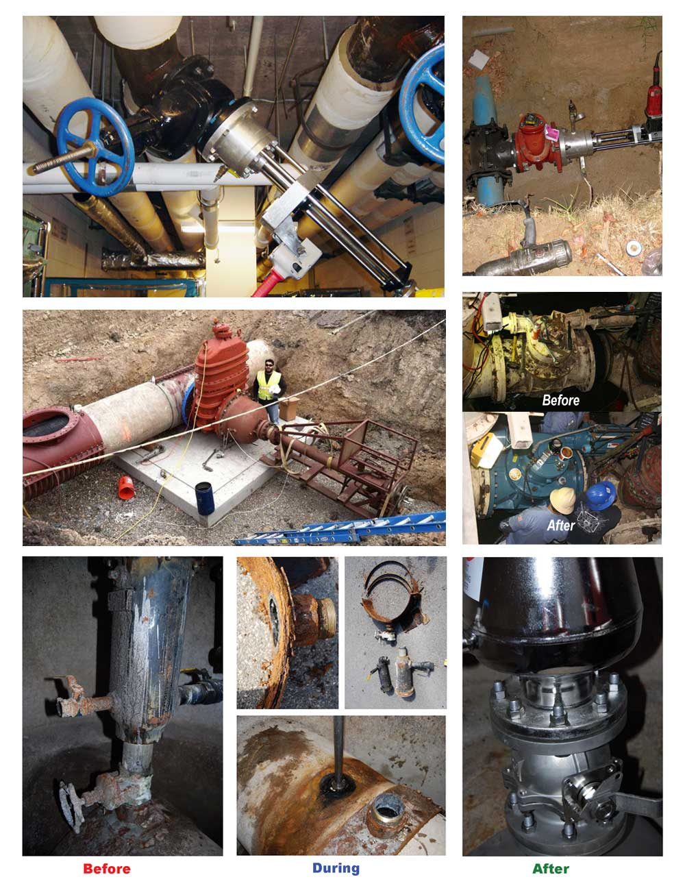 Small to Large Valve Installations and Replacement Services